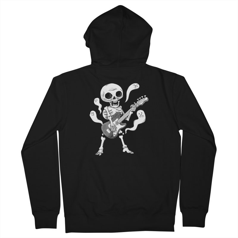 dead rock Men's French Terry Zip-Up Hoody by Pepe Rodríguez