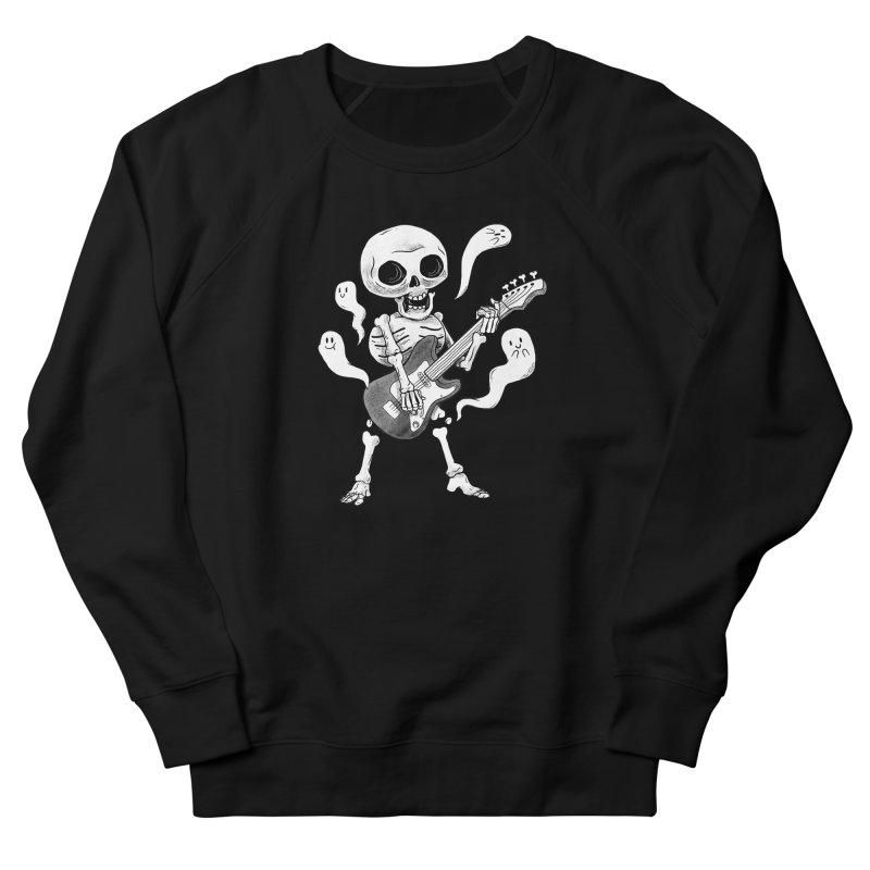 dead rock Men's French Terry Sweatshirt by Pepe Rodríguez