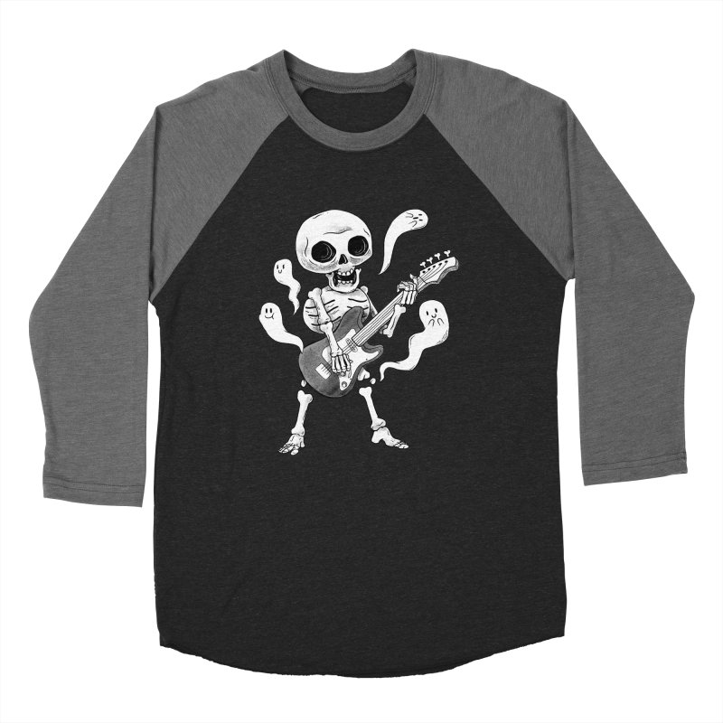 dead rock Men's Baseball Triblend Longsleeve T-Shirt by Pepe Rodríguez
