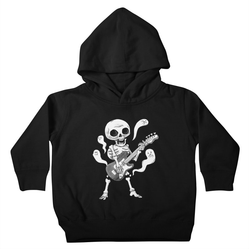 dead rock Kids Toddler Pullover Hoody by Pepe Rodríguez