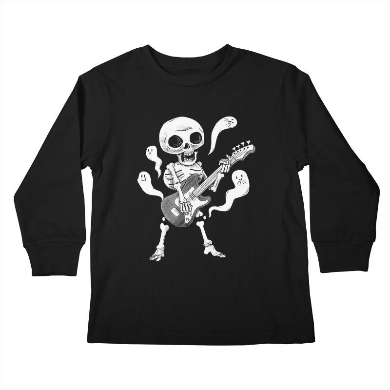 dead rock Kids Longsleeve T-Shirt by Pepe Rodríguez