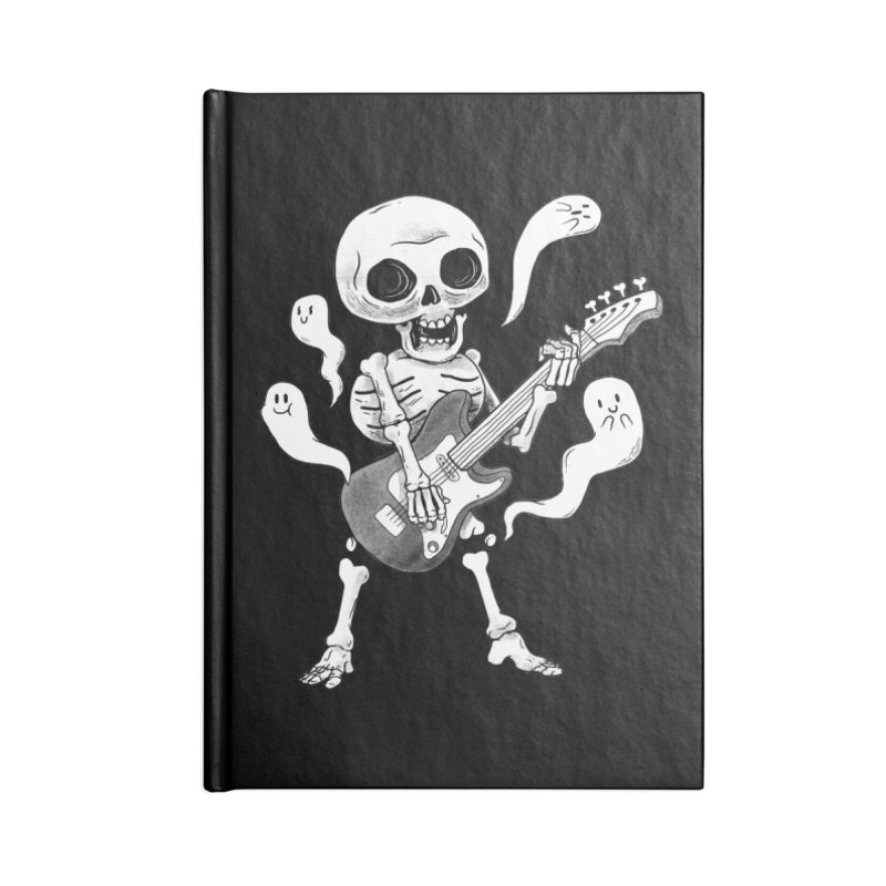 dead rock Accessories Lined Journal Notebook by Pepe Rodríguez
