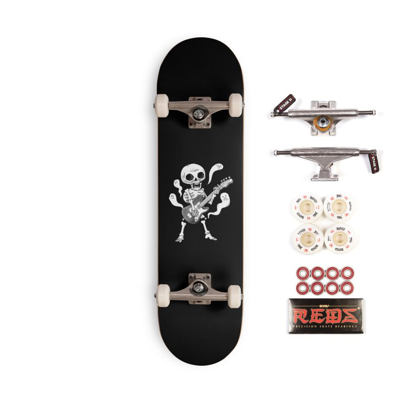 dead rock Accessories Complete - Pro Skateboard by Pepe Rodríguez