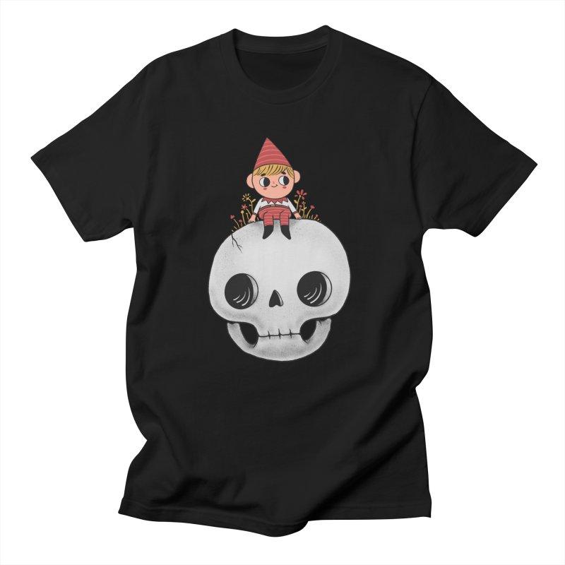 My little friend in Men's Regular T-Shirt Black by Pepe Rodríguez