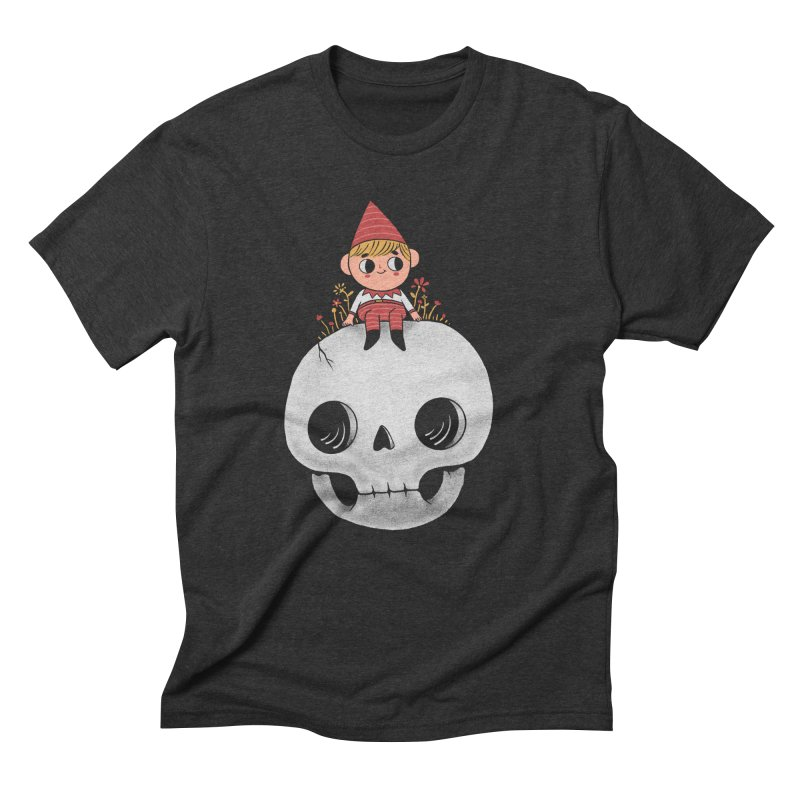 My little friend Men's Triblend T-Shirt by Pepe Rodríguez