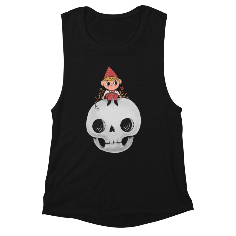 My little friend Women's Muscle Tank by Pepe Rodríguez