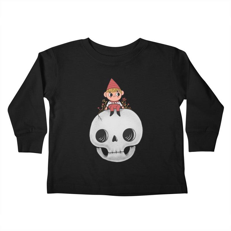 My little friend Kids Toddler Longsleeve T-Shirt by Pepe Rodríguez
