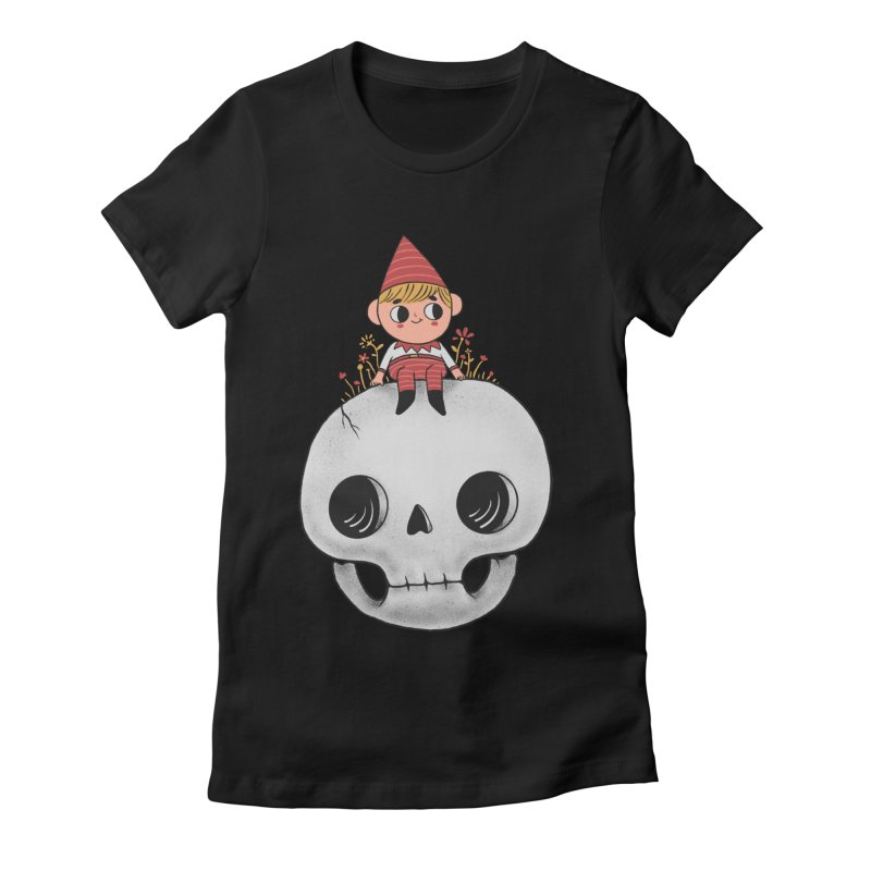 My little friend Women's Fitted T-Shirt by Pepe Rodríguez