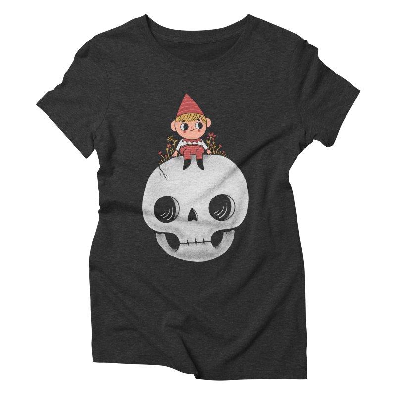 My little friend Women's Triblend T-Shirt by Pepe Rodríguez