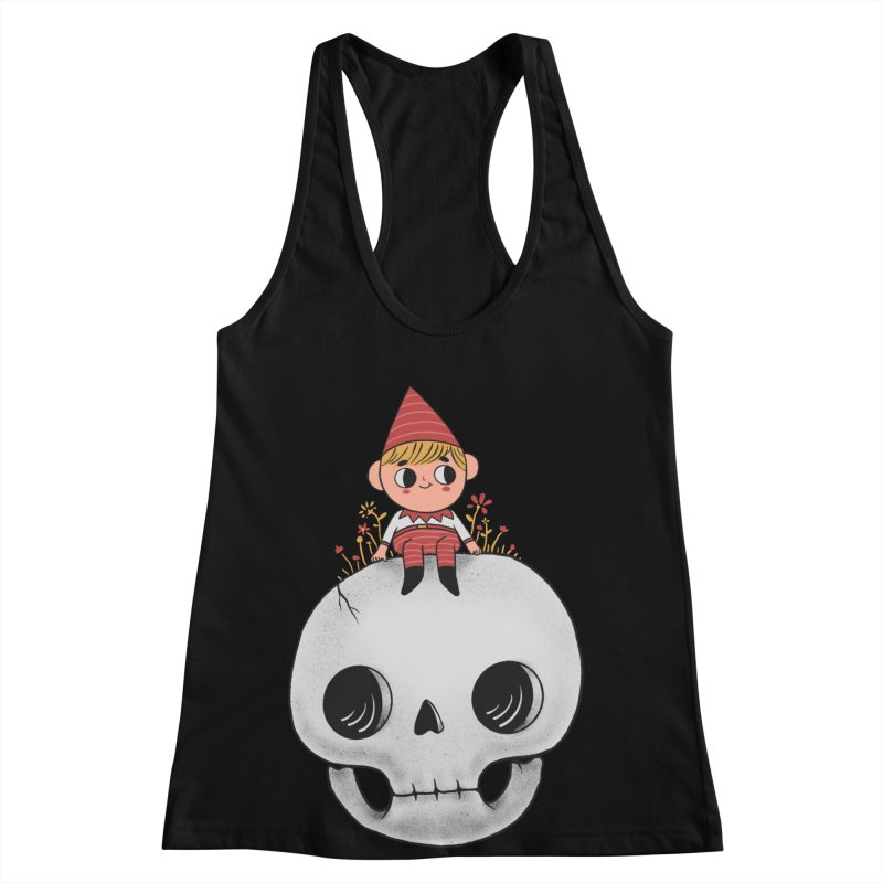 My little friend Women's Racerback Tank by Pepe Rodríguez
