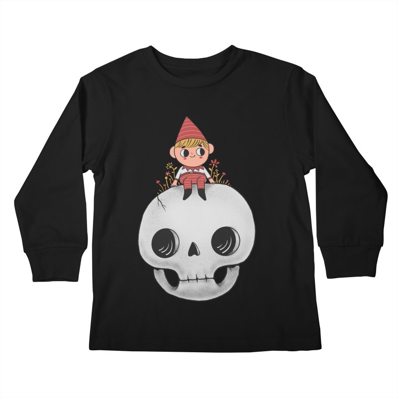 My little friend Kids Longsleeve T-Shirt by Pepe Rodríguez
