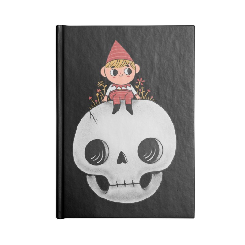 My little friend Accessories Lined Journal Notebook by Pepe Rodríguez