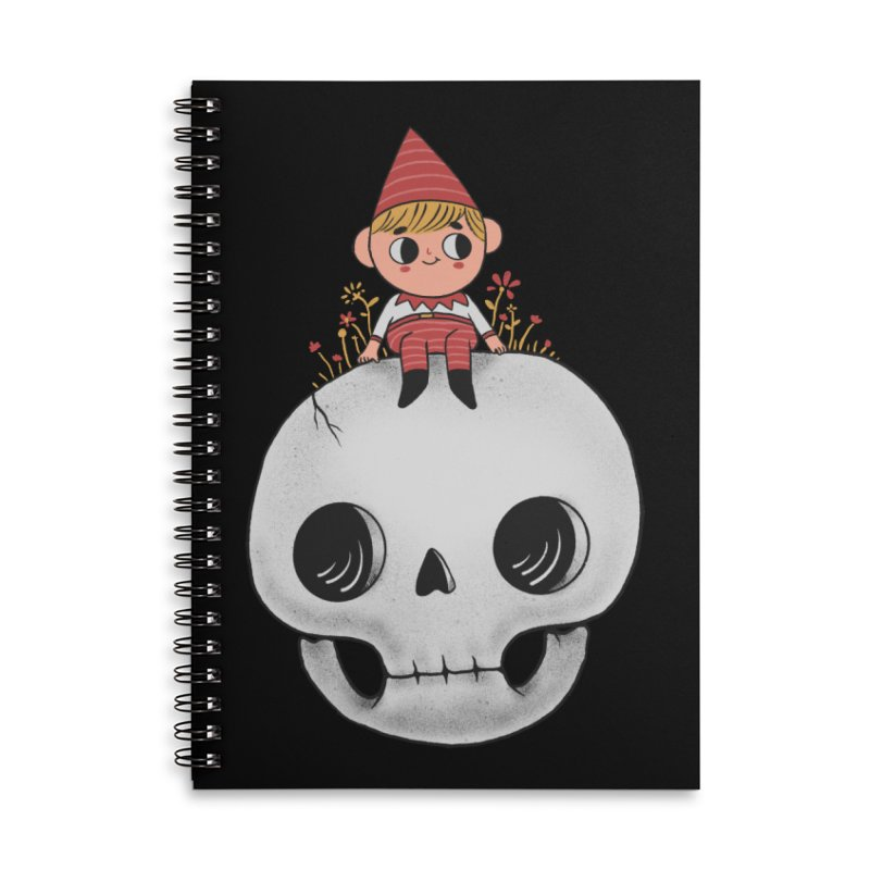 My little friend Accessories Lined Spiral Notebook by Pepe Rodríguez