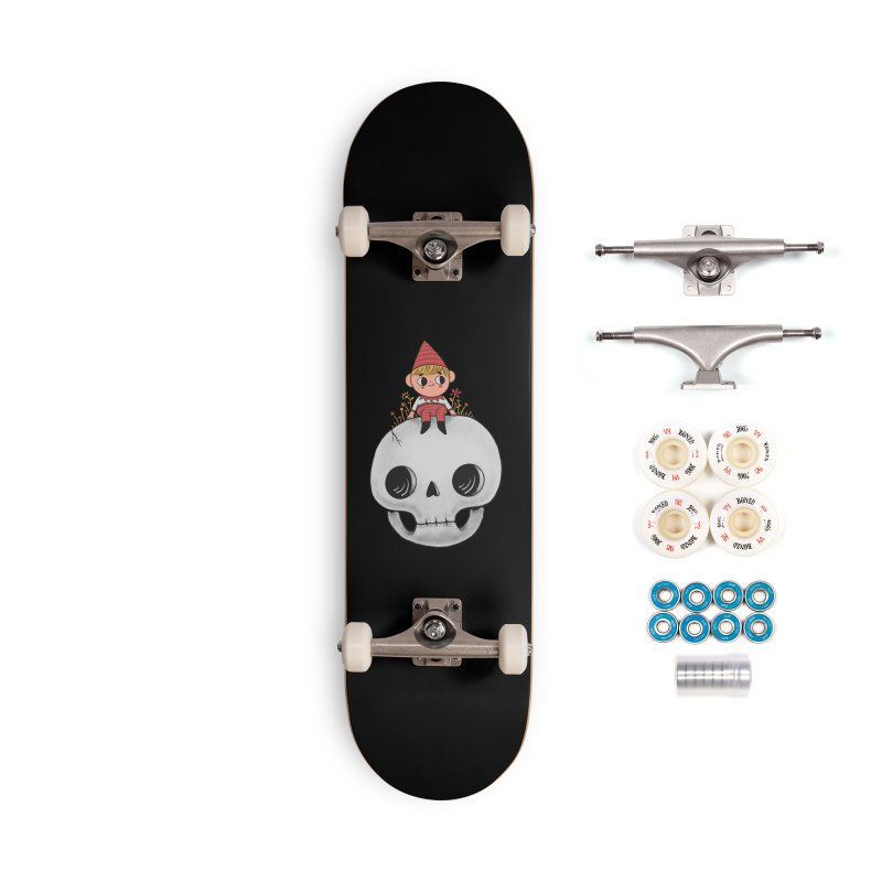 My little friend Accessories Complete - Premium Skateboard by Pepe Rodríguez