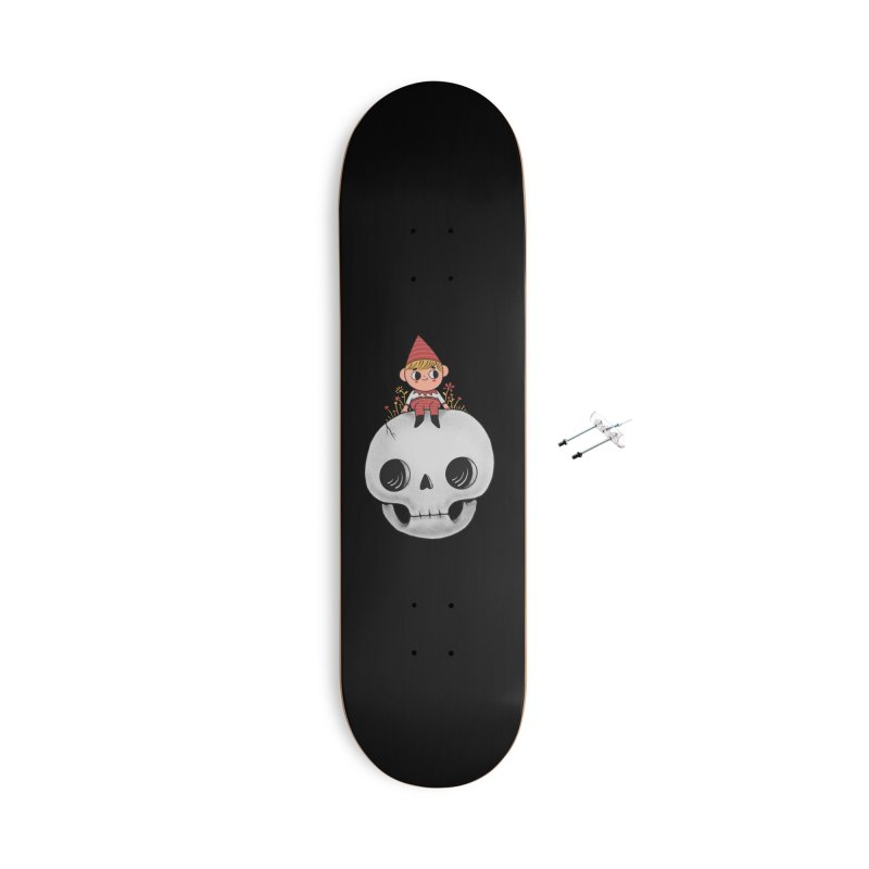 My little friend Accessories With Hanging Hardware Skateboard by Pepe Rodríguez