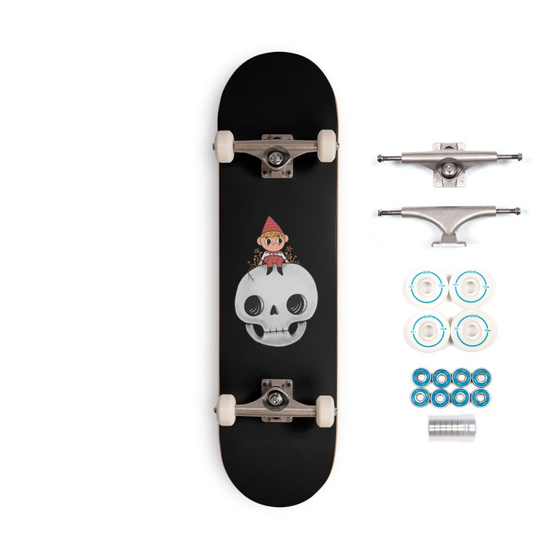 My little friend Accessories Complete - Basic Skateboard by Pepe Rodríguez