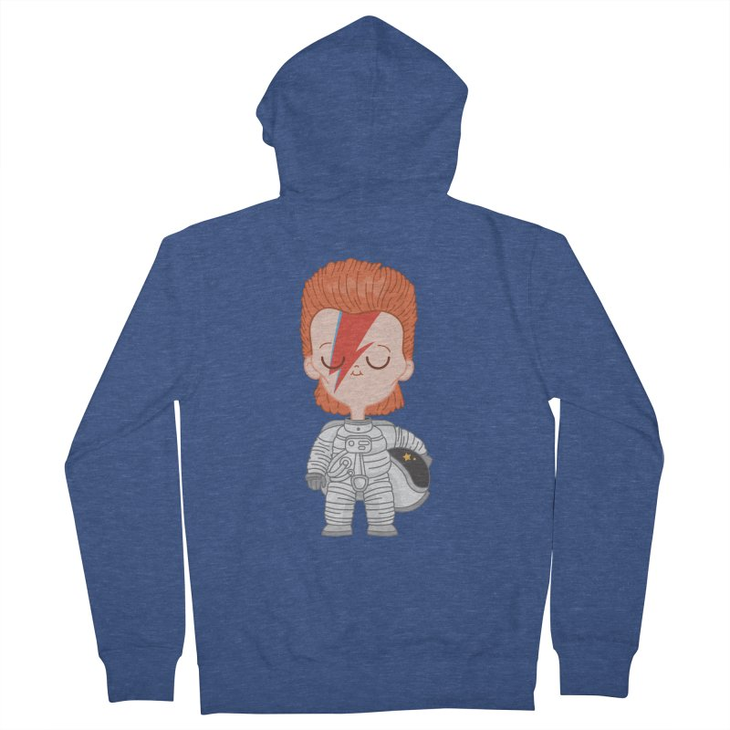 StarMan Women's Zip-Up Hoody by Pepe Rodríguez