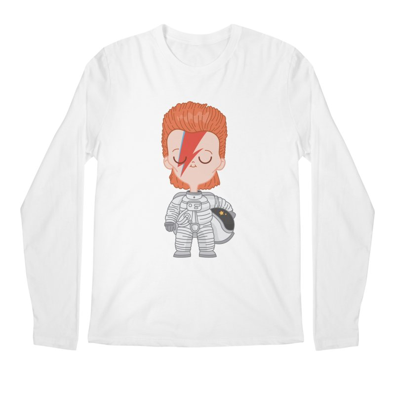 StarMan Men's Longsleeve T-Shirt by Pepe Rodríguez