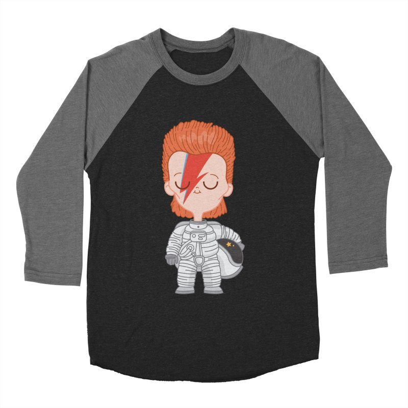 StarMan Women's Baseball Triblend T-Shirt by Pepe Rodríguez