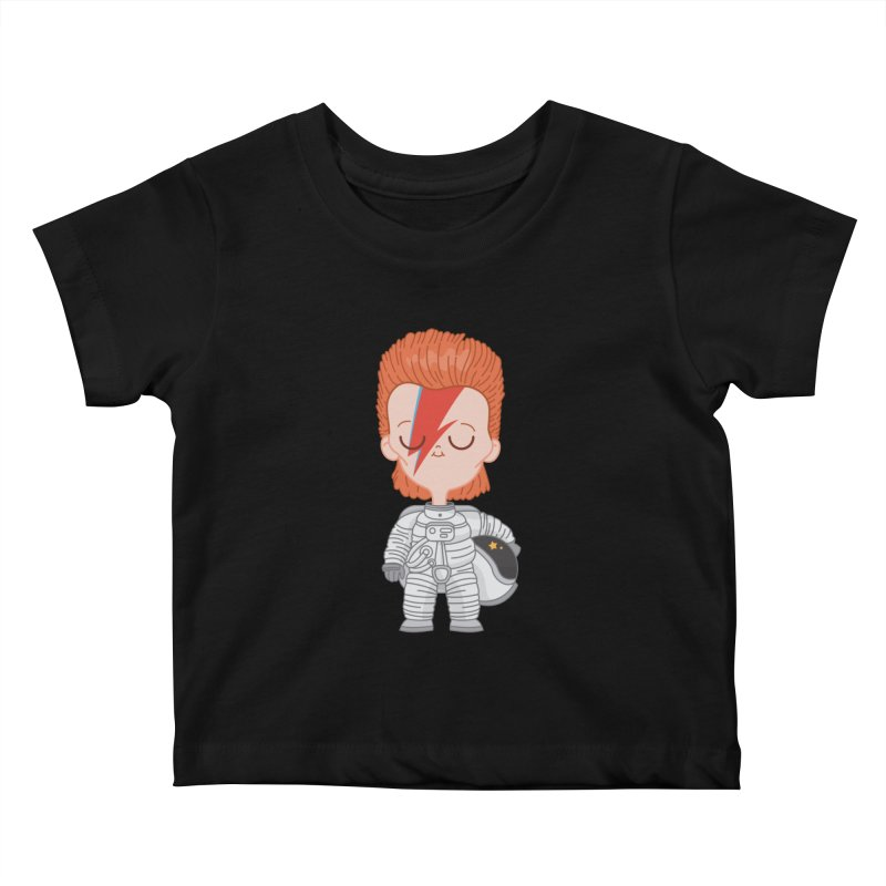 StarMan Kids Baby T-Shirt by Pepe Rodríguez