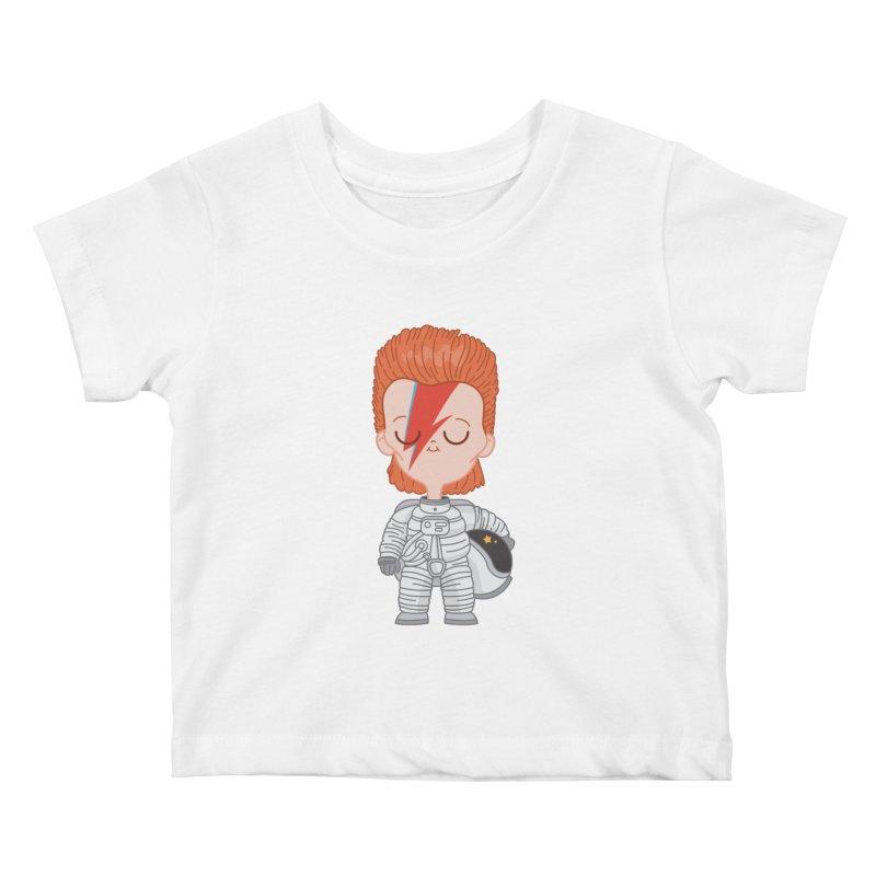 StarMan Kids Baby T-Shirt by Pepe Rodríguez