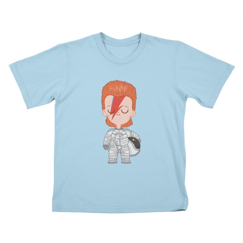 StarMan Kids T-Shirt by Pepe Rodríguez