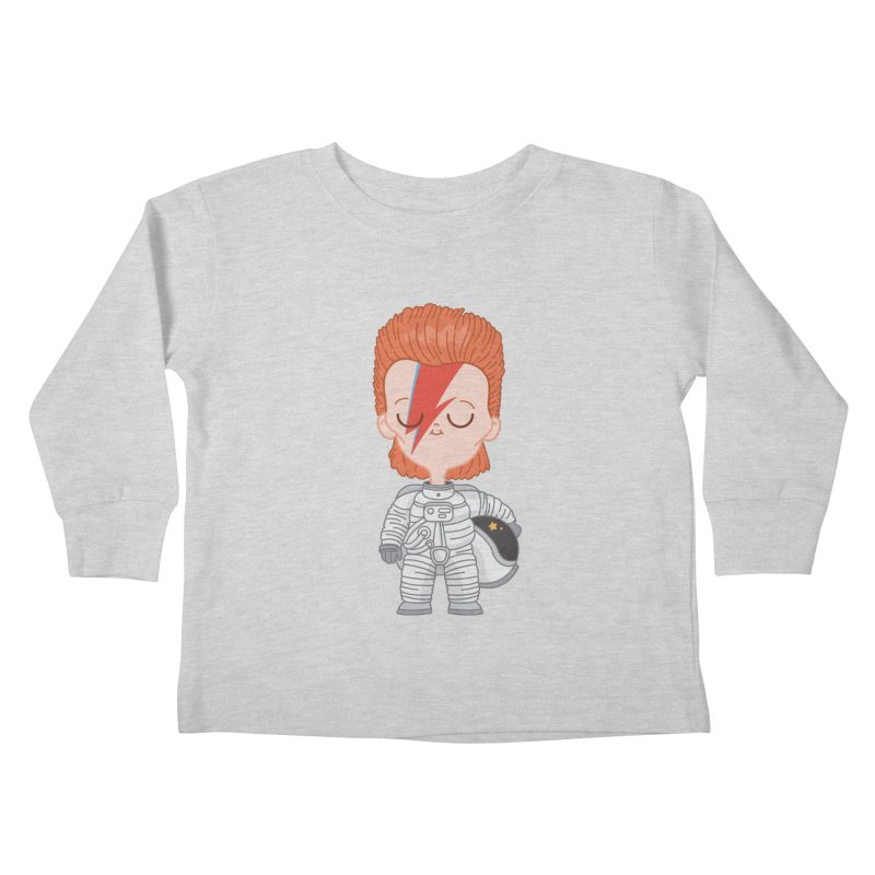 StarMan Kids Toddler Longsleeve T-Shirt by Pepe Rodríguez