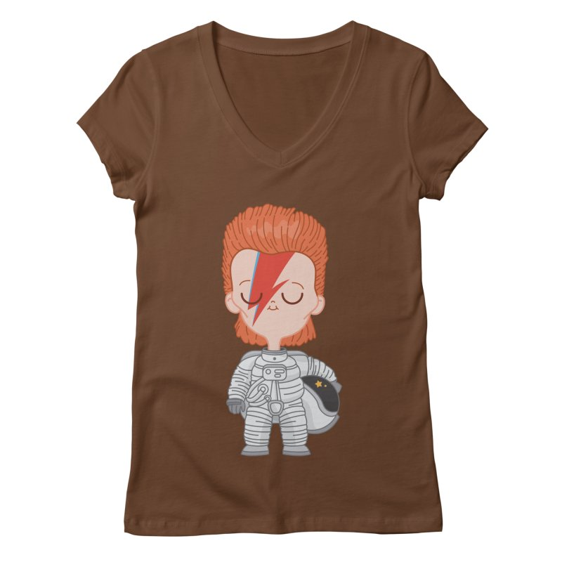 StarMan Women's V-Neck by Pepe Rodríguez