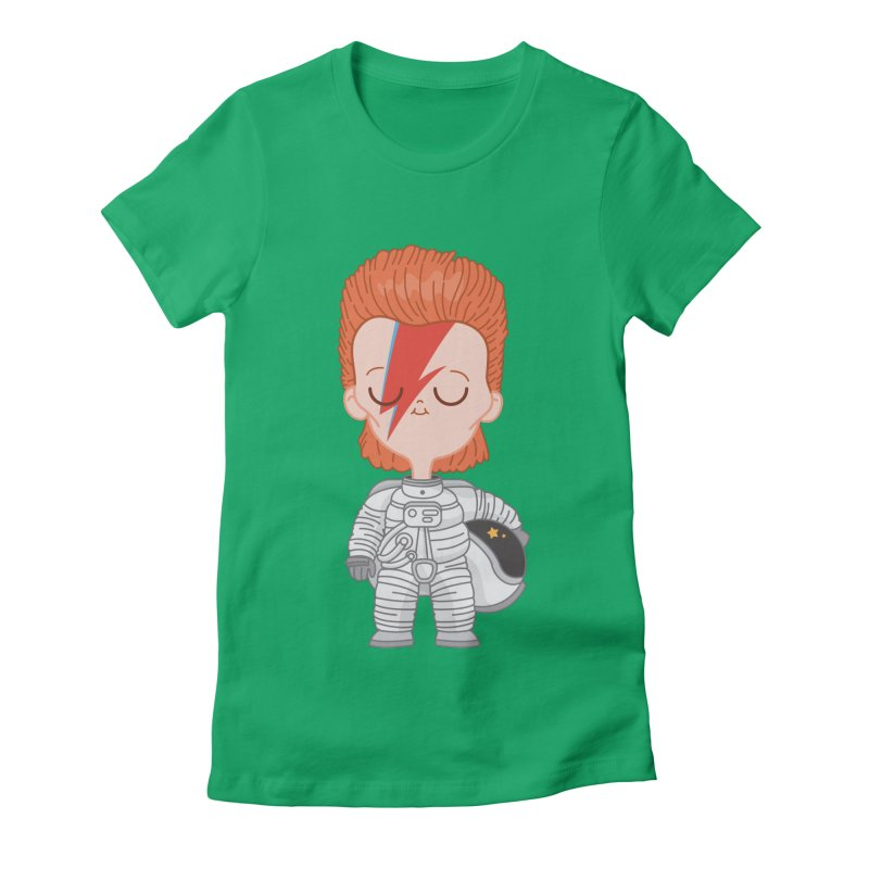 StarMan Women's Fitted T-Shirt by Pepe Rodríguez
