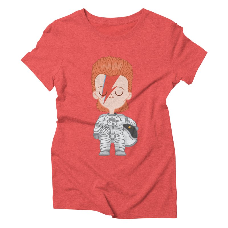 StarMan Women's Triblend T-shirt by Pepe Rodríguez