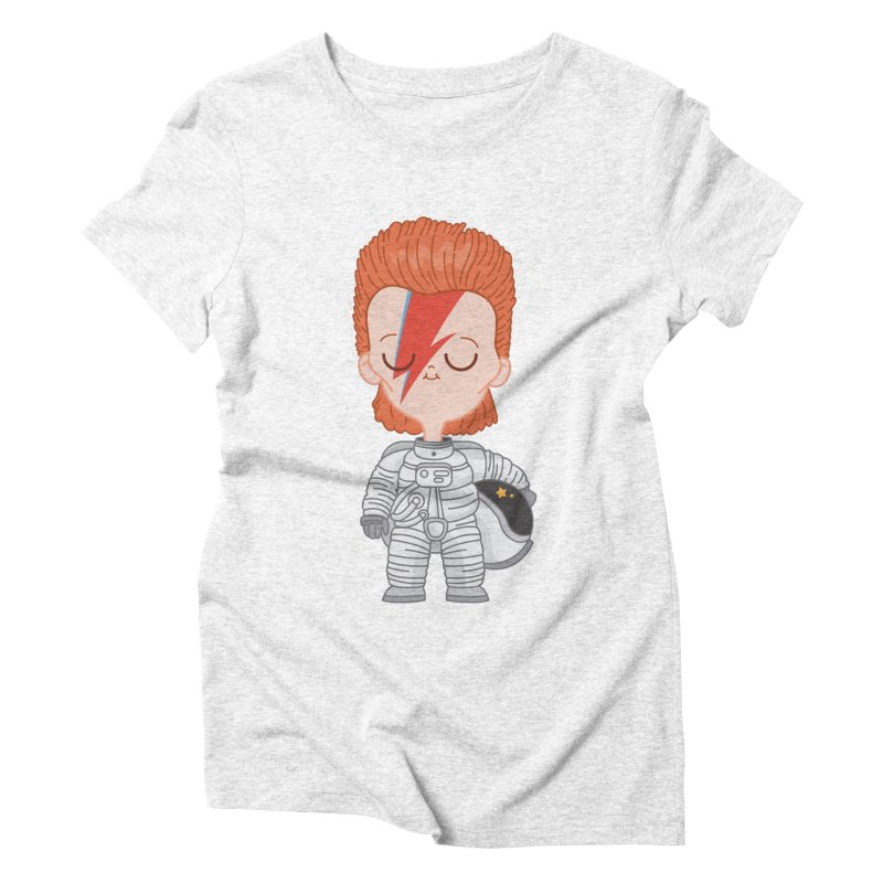 StarMan Women's Triblend T-shirt by Pepe Rodríguez