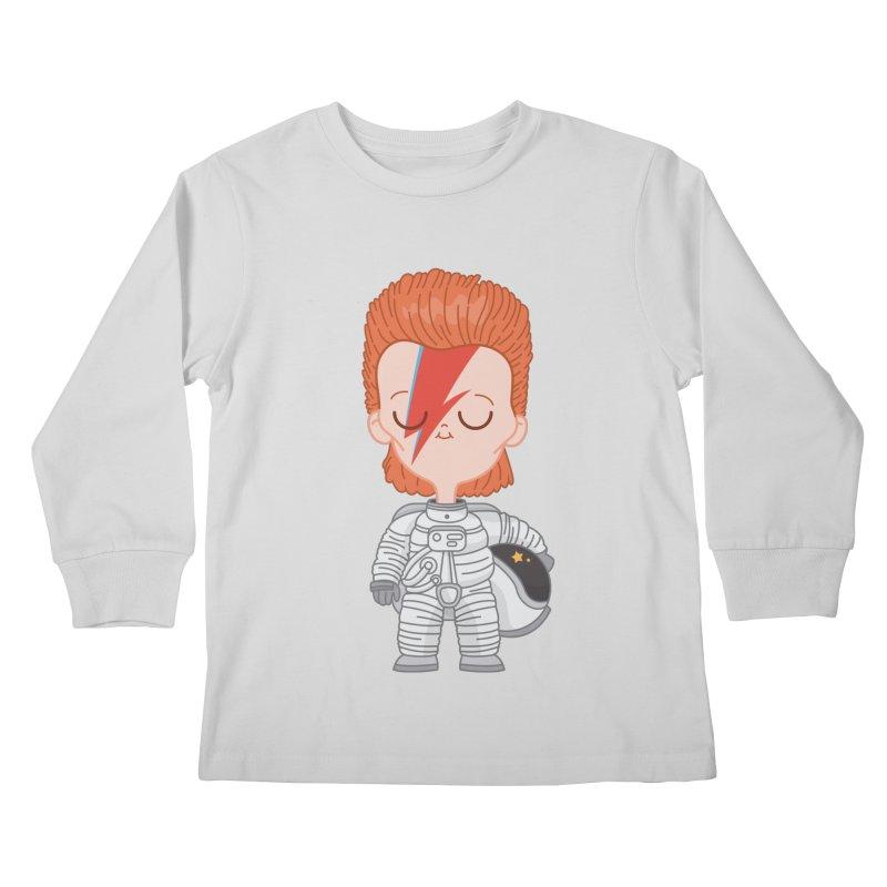 StarMan Kids Longsleeve T-Shirt by Pepe Rodríguez