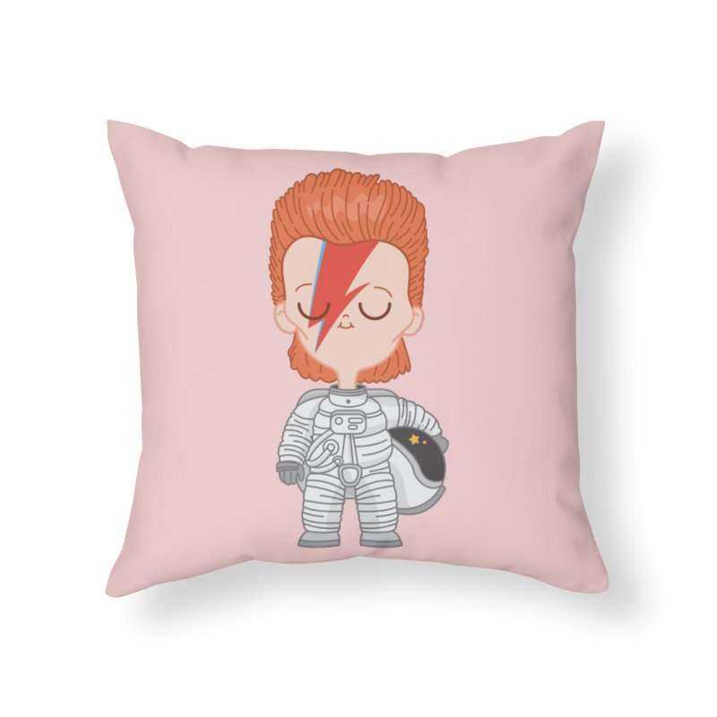 StarMan Home Throw Pillow by Pepe Rodríguez