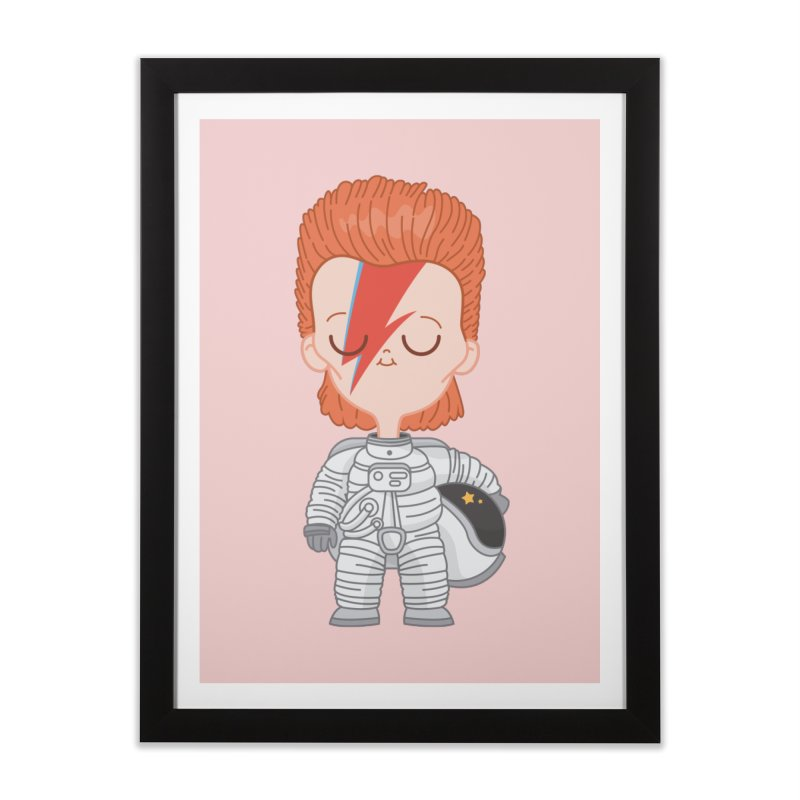 StarMan Home Framed Fine Art Print by Pepe Rodríguez