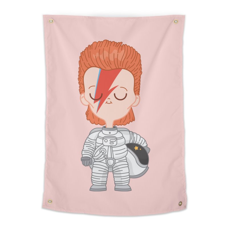 StarMan Home Tapestry by Pepe Rodríguez