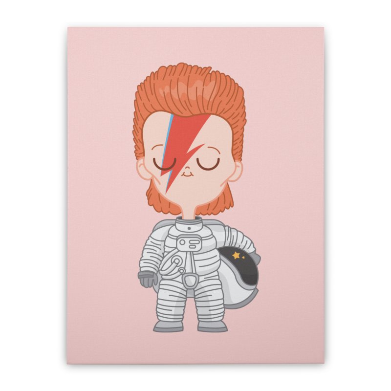 StarMan Home Stretched Canvas by Pepe Rodríguez
