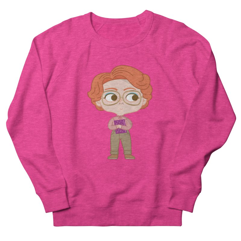Barb Women's French Terry Sweatshirt by Pepe Rodríguez