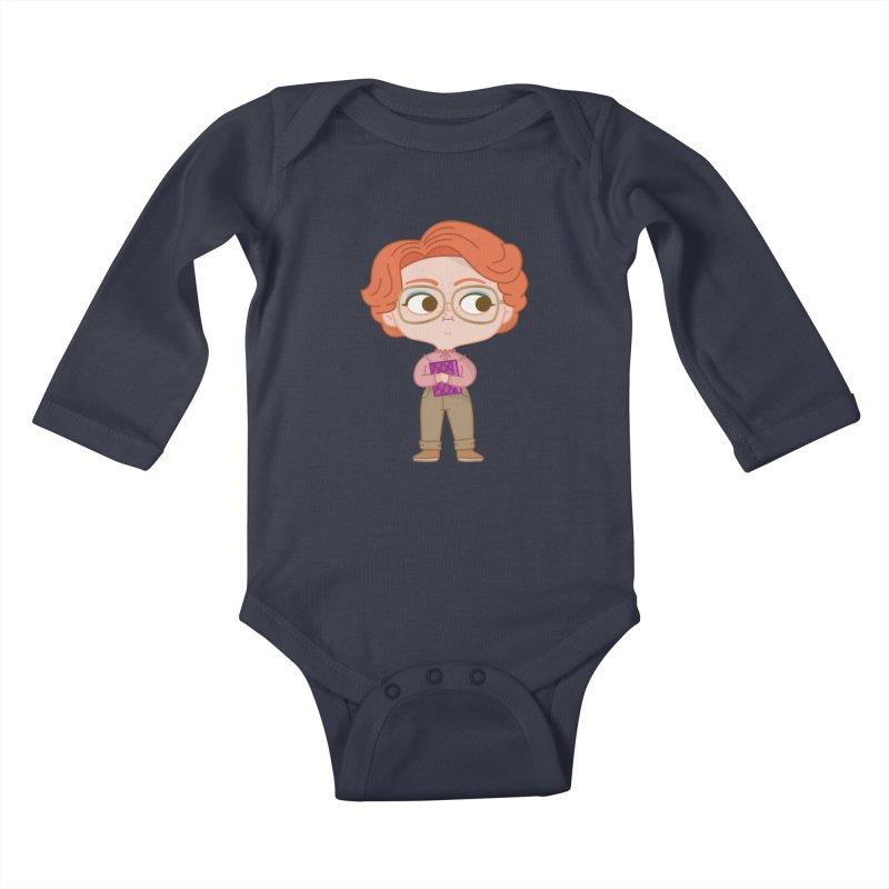 Barb Kids Baby Longsleeve Bodysuit by Pepe Rodríguez