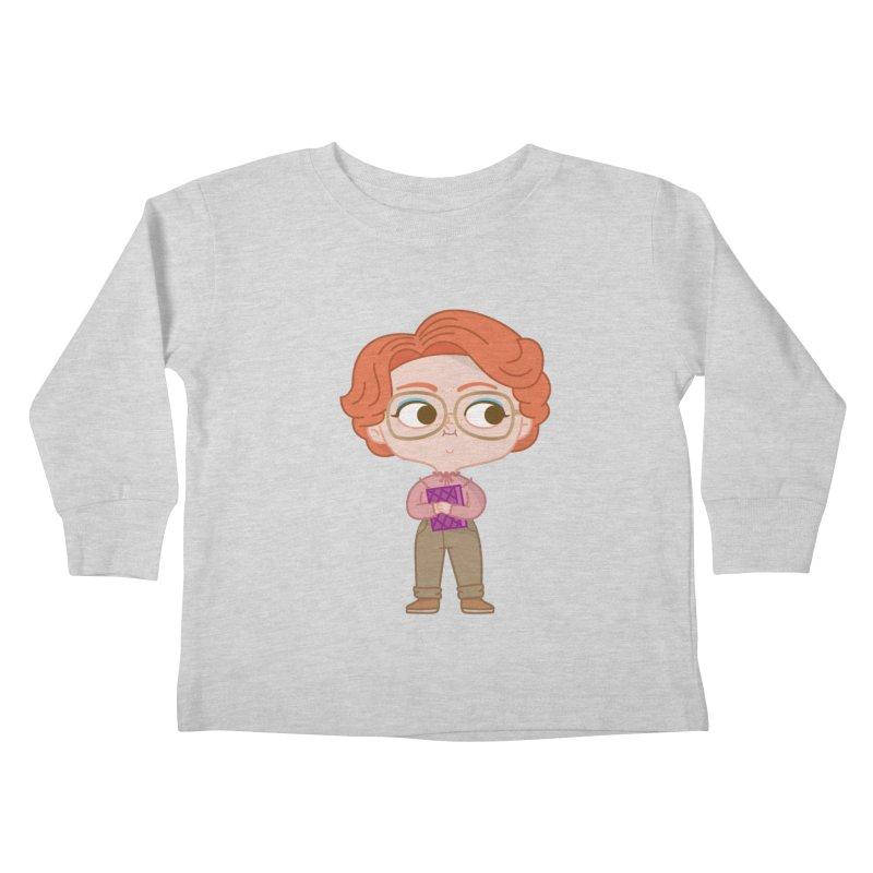 Barb Kids Toddler Longsleeve T-Shirt by Pepe Rodríguez