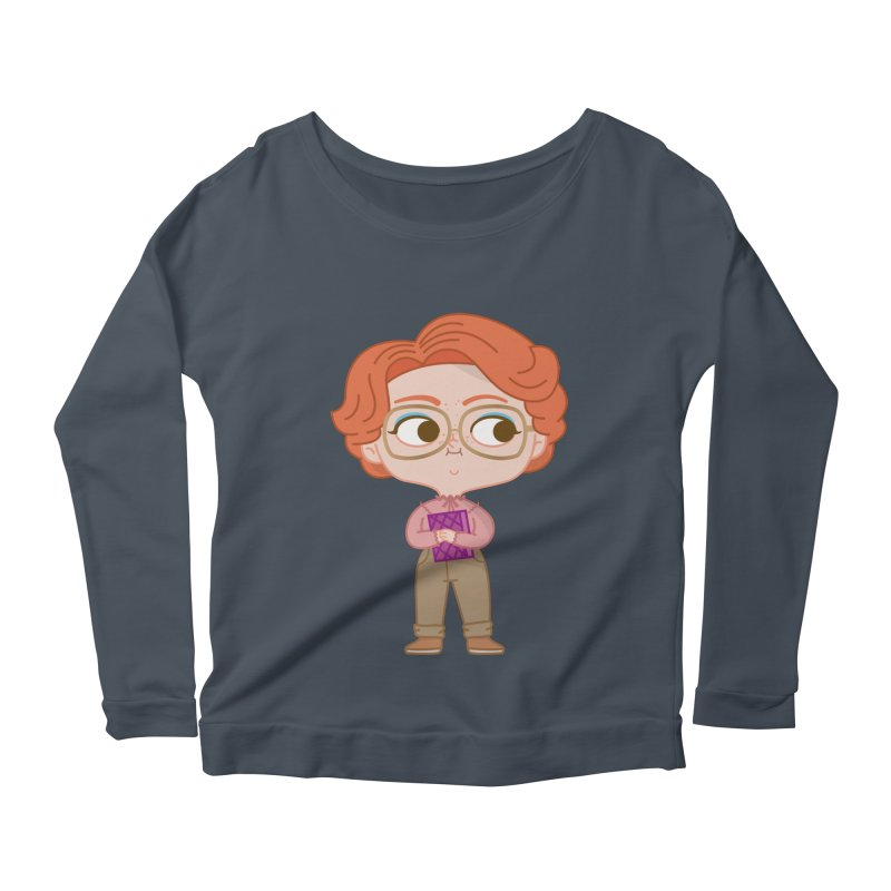 Barb Women's Scoop Neck Longsleeve T-Shirt by Pepe Rodríguez