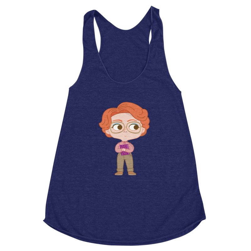 Barb Women's Racerback Triblend Tank by Pepe Rodríguez