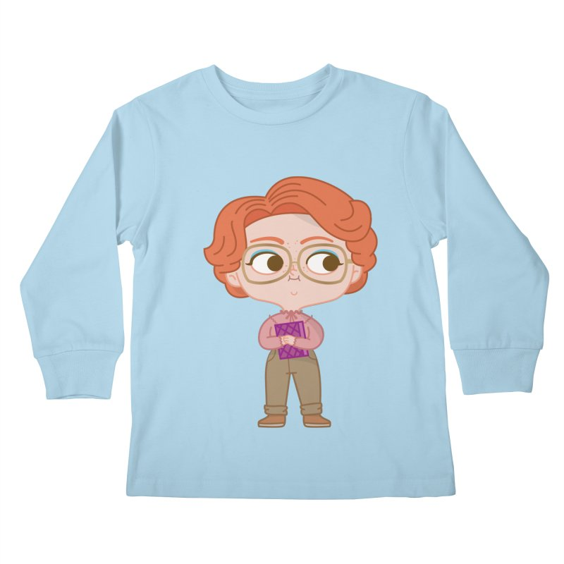 Barb Kids Longsleeve T-Shirt by Pepe Rodríguez