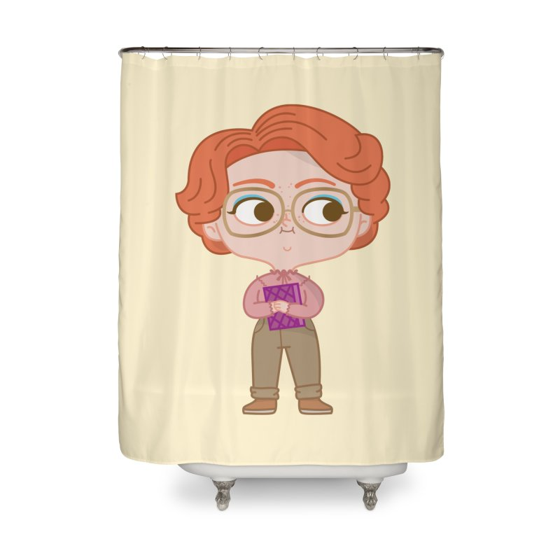 Barb Home Shower Curtain by Pepe Rodríguez