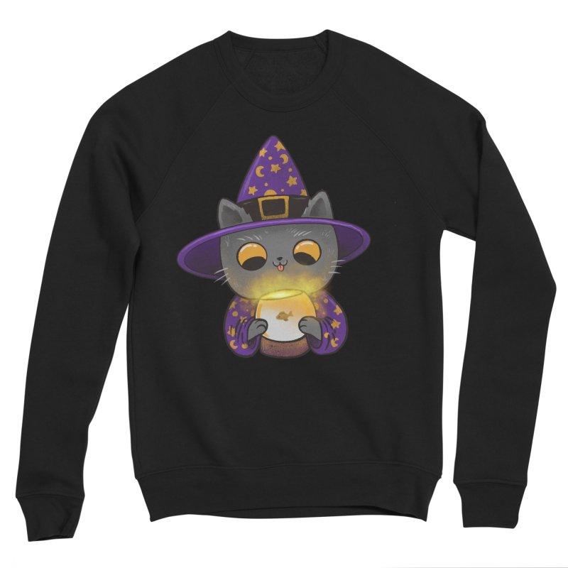 Magicat Women's Sponge Fleece Sweatshirt by Pepe Rodríguez