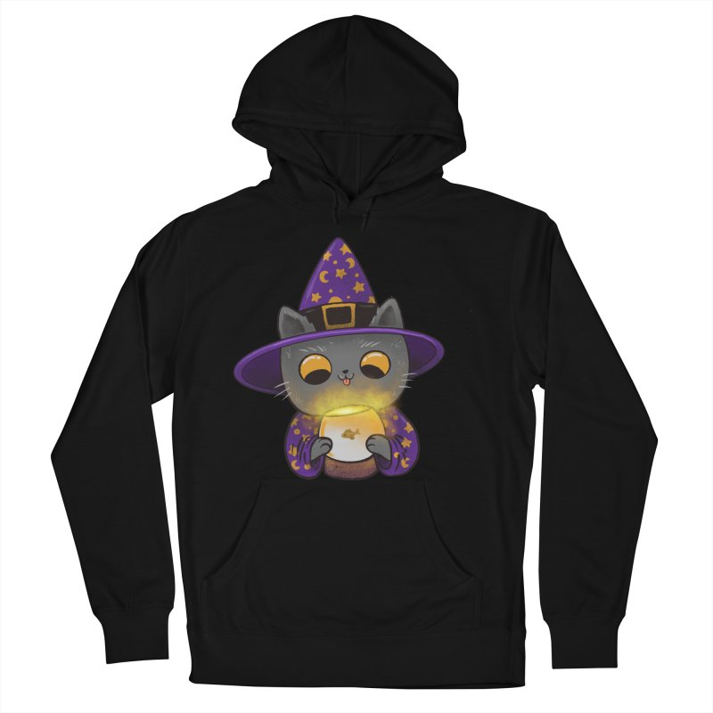 Magicat Women's French Terry Pullover Hoody by Pepe Rodríguez