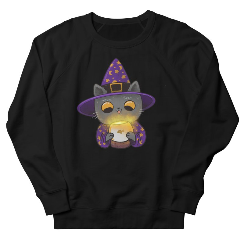 Magicat Women's French Terry Sweatshirt by Pepe Rodríguez