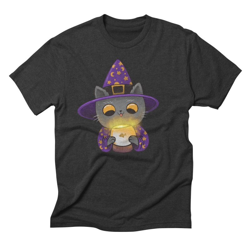 Magicat Men's Triblend T-Shirt by Pepe Rodríguez
