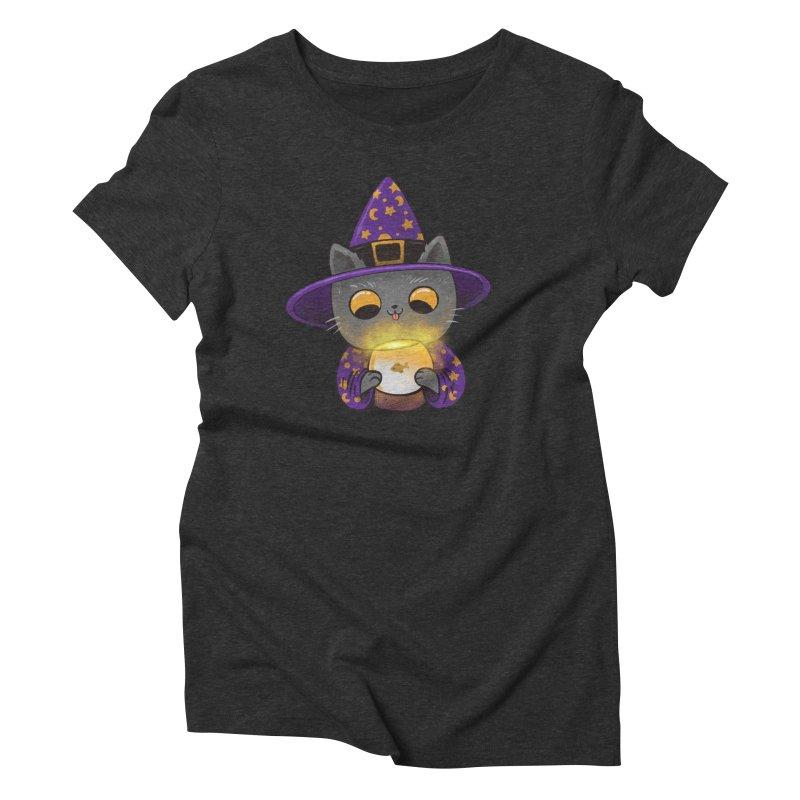 Magicat Women's Triblend T-Shirt by Pepe Rodríguez
