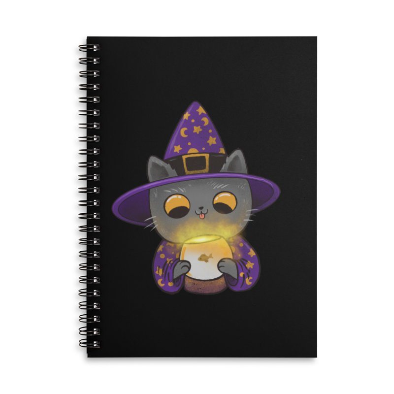 Magicat Accessories Lined Spiral Notebook by Pepe Rodríguez