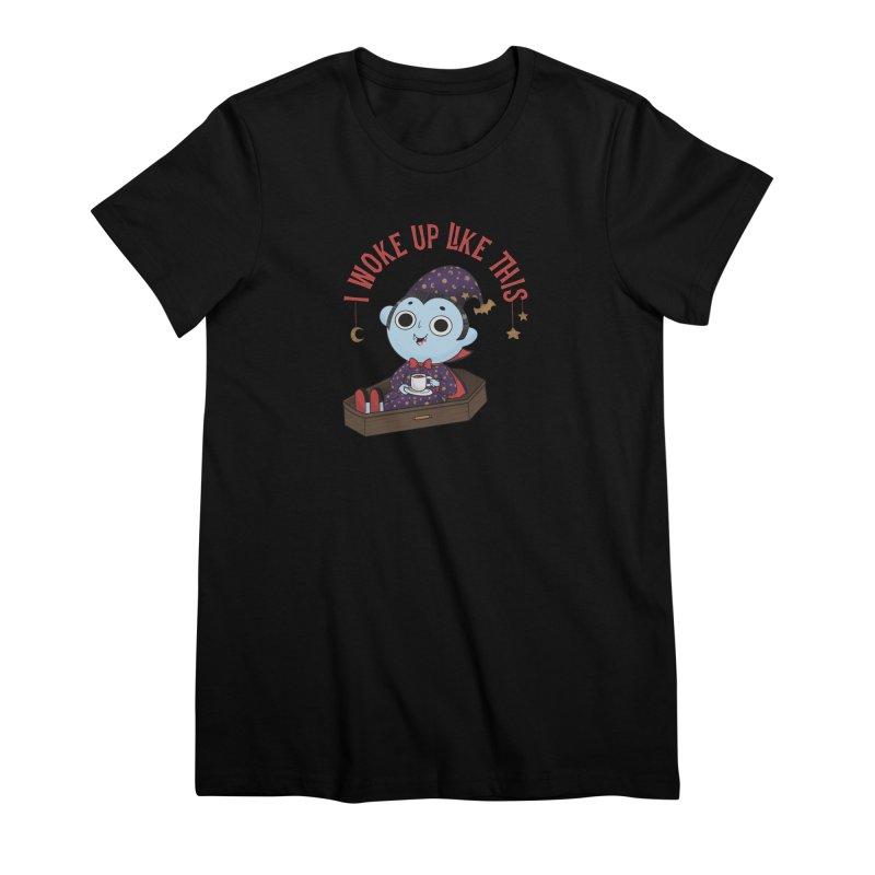 Woke up Women's Premium T-Shirt by Pepe Rodríguez